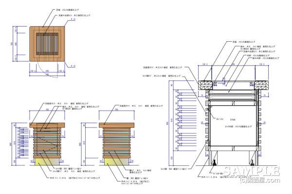 ベーカリーショップ_汎用性のあるオープンテーブル