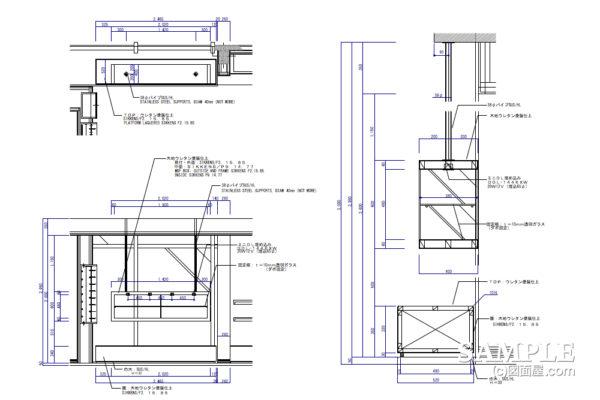 シューズショップの吊り式ディスプレー什器の効果