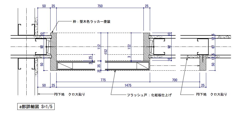 窓付き引き戸02
