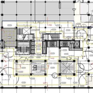 大型商業施設の天井計画 事例_その1